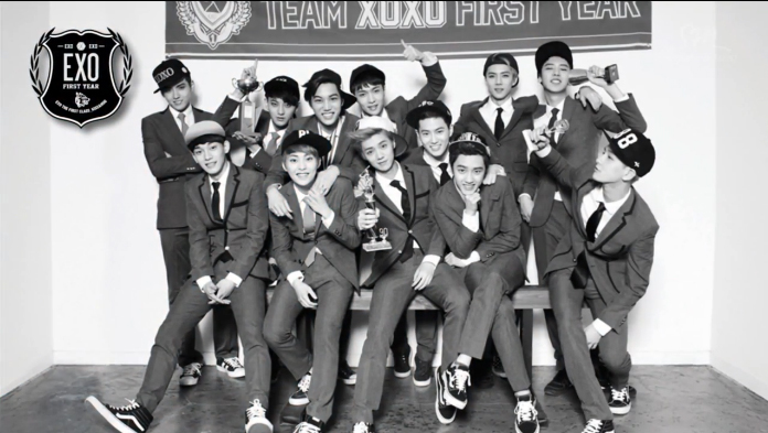 "EXO Releases Highlight Medley for Upcoming First Album ""XOXO (Kiss&Hug)"""