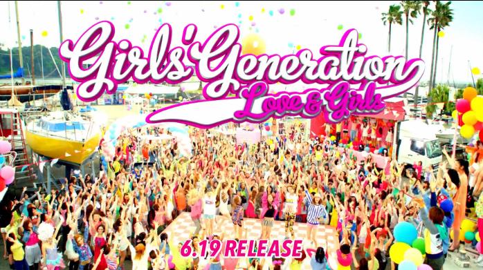 "Girls' Generation Releases Dance Version MV of ""Love & Girls"""