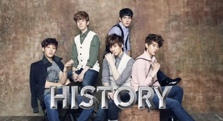 Rookie Group History Introduces Themselves in a Video Interview