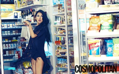 """Lee Hyori Poses for """"Cosmopolitan,"""" Talks About Lee Sang Soon and Her Life"""