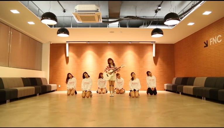 "Juniel Releases Dance Practice for ""Pretty Boy"""