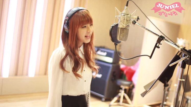 "Juniel Shares Video of ""Pretty Boy"" Recording"