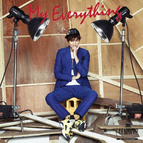 """Lee Min Ho """"My Everything"""" Album Jacket Released"""
