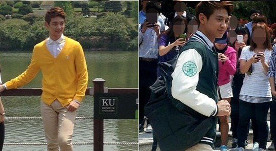 SHINee's Minho Spotted on University Campus