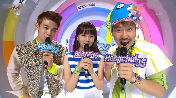 """MBC Music Core 05.11.13 – Roy Kim's """"Bom Bom Bom"""" Wins"""