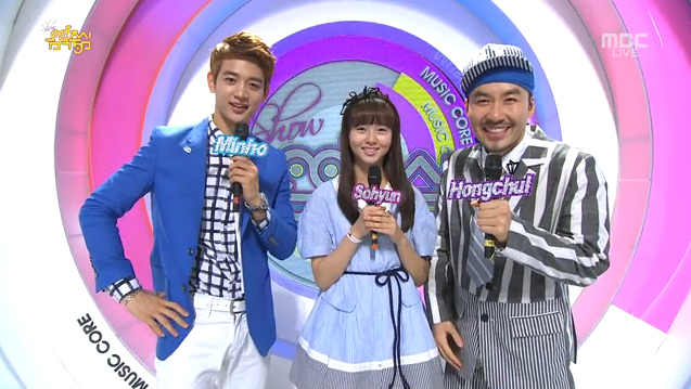 "MBC Music Core 05.25.13 – Shinhwa's ""This Love"" Wins"