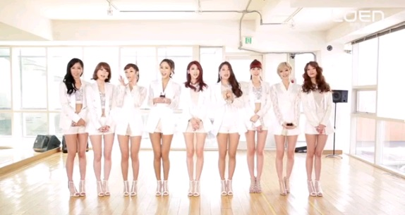 "Nine Muses Releases Dance Lesson Video for ""Wild"""