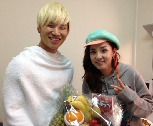Sandara Park and Daesung Look Adorable Together