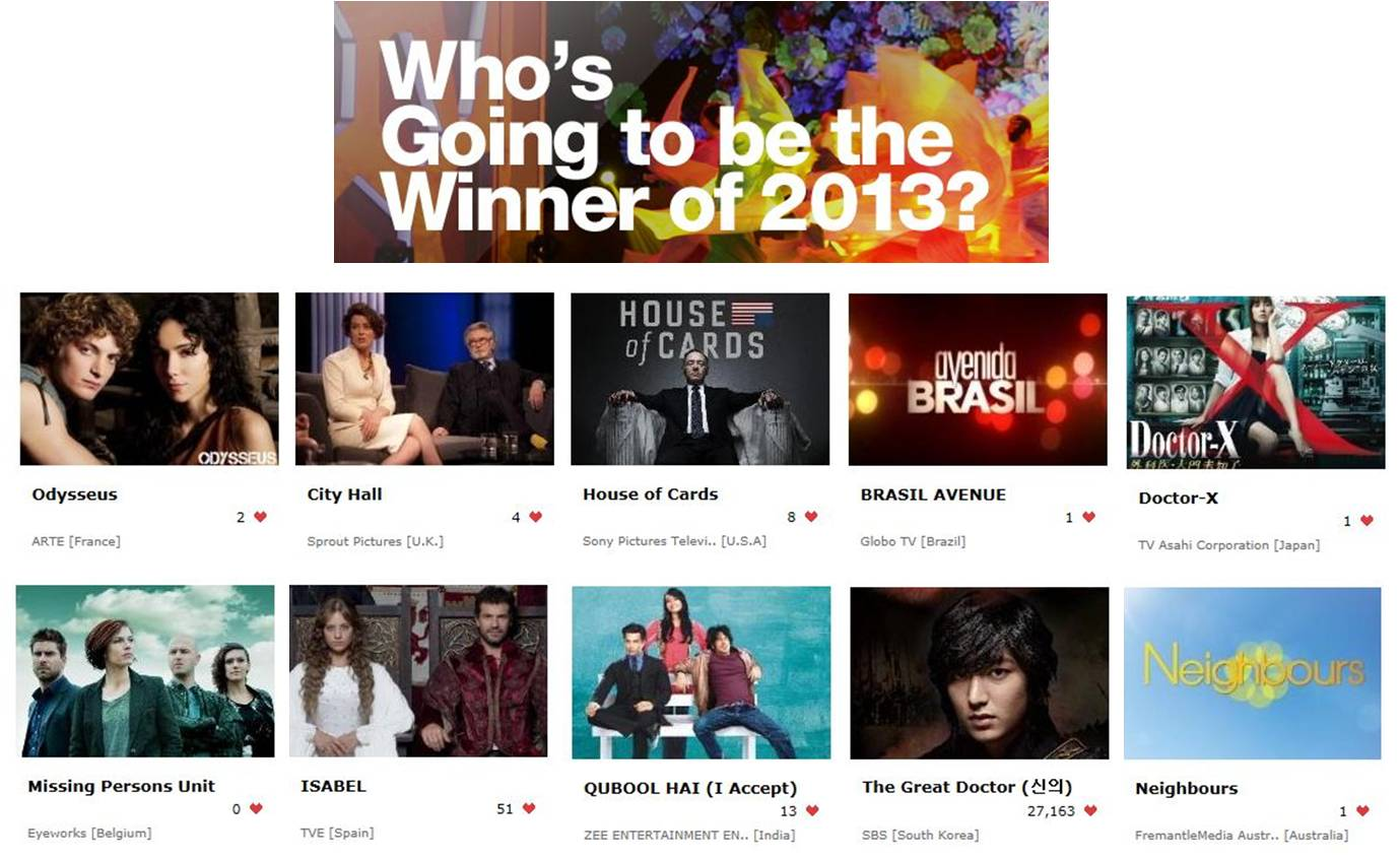 """Seoul International Drama Awards 2013"" – Give ""Hearts"" to Your Favorite Dramas!"