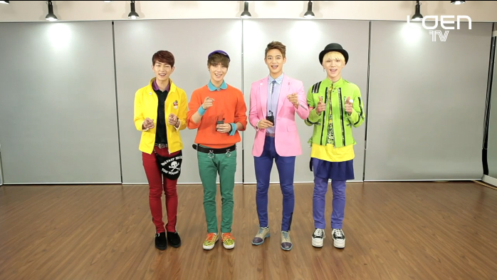 """SHINee Teaches Their """"Why So Serious"""" Choreography in Newest Episode of """"Let's Dance"""""""