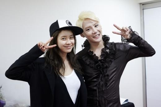 [SNS Pic] Song Ji Hyo and JYJ Junsu Together!