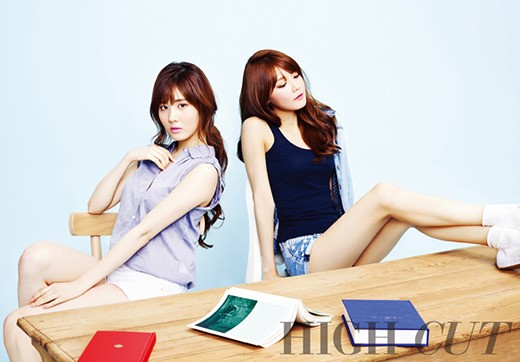 "Girls' Generation's Sooyoung and Seohyun Go Back to School for ""High Cut"""