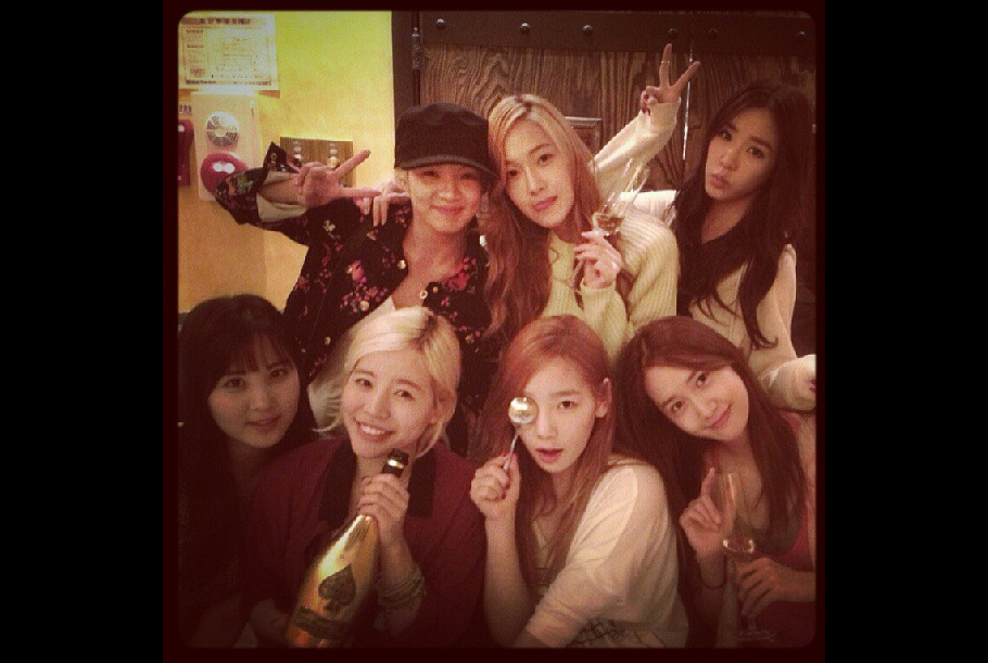 [SNS Pic] Girls' Generation Celebrates Sunny's Birthday