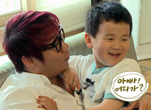 """Dad, Where Are You Going?"" Star Yoon Hoo Is Now on a Diet"