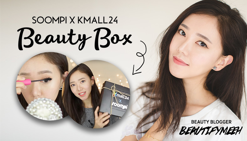 Kmall24 x Soompi K-pop Star Beauty Box Review (Feat. YouTuber Beautifymeeh)
