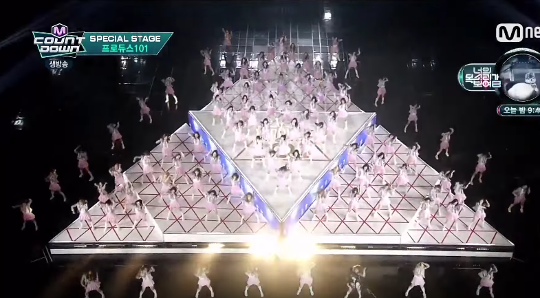 "Mnet's Girl Group Project ""Produce 101"" Members Revealed on ""M!Countdown"""