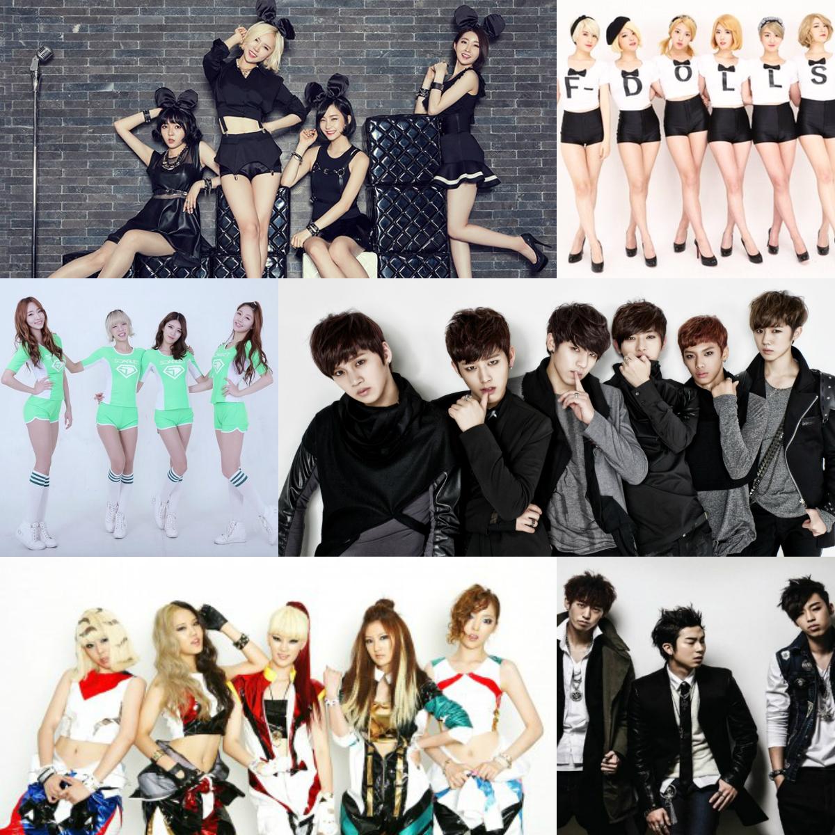 Kpop Prominente aus dem Jahr 2015