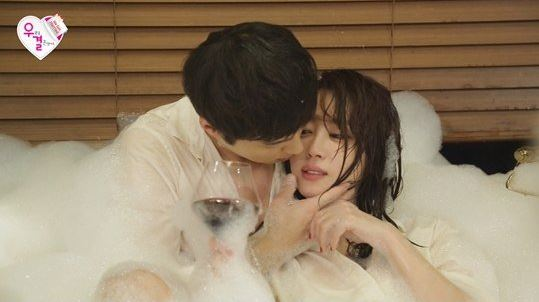 "Oh Min Seok and Kang Ye Won Get Intimate on ""We Got Married"""