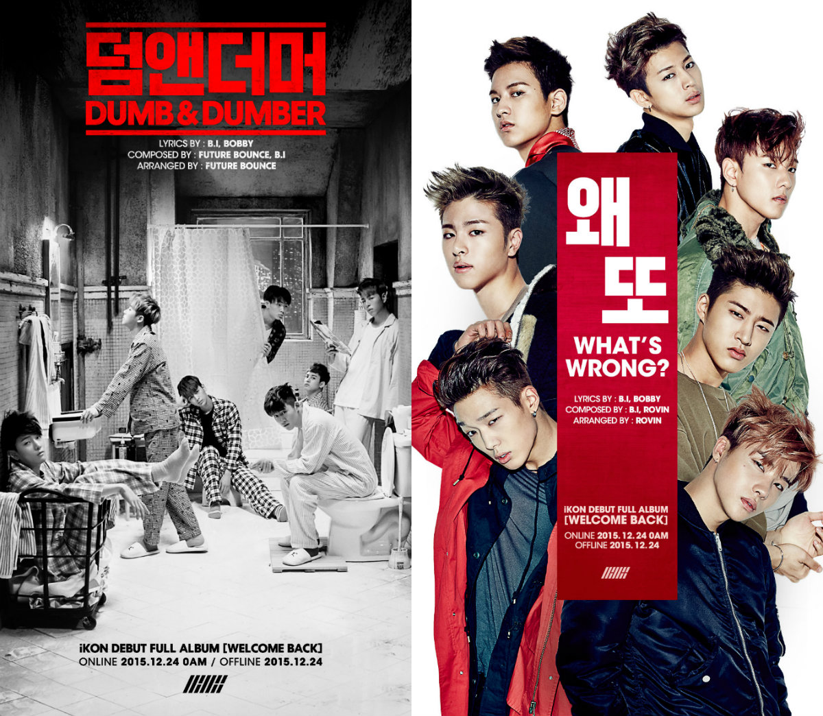 iKON Reveals Double Title Tracks for Debut Full Album