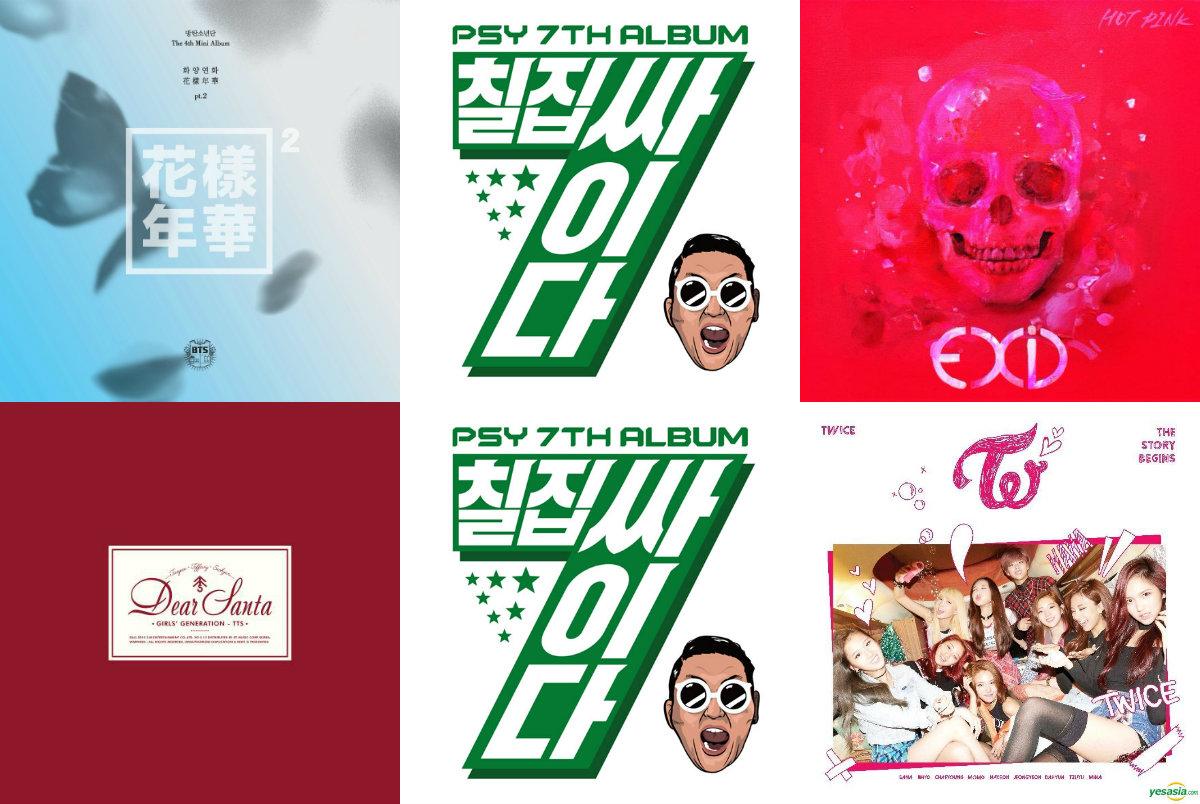 Weekly K-Pop Music Chart 2015 – December Week 3