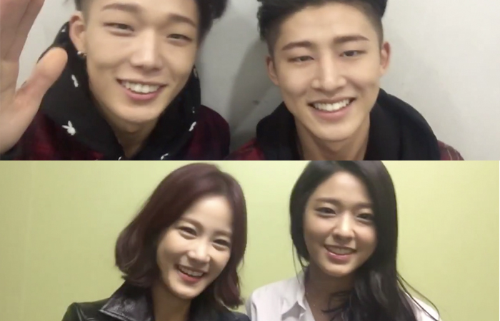 """iKON's Bobby and B.I, AOA's Seolhyun, and Kim Ji Min Show Excitement for """"Running Man"""" Special"""