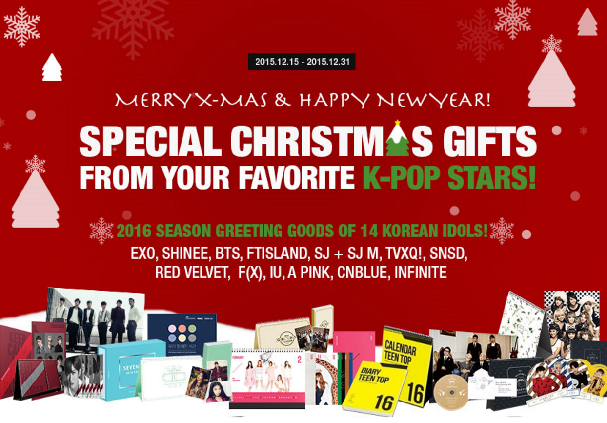 Be the First to Get 2016 K-Pop Goods from EXO, BTS, INFINITE, and More at Kmall24