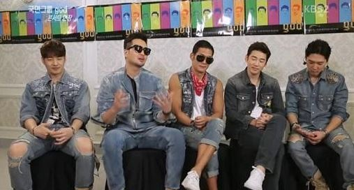 g.o.d Jokes About Their Aging Fans
