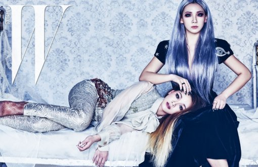 2NE1's CL and Sister Lee Ha Rin Ring in the New Year for W Magazine