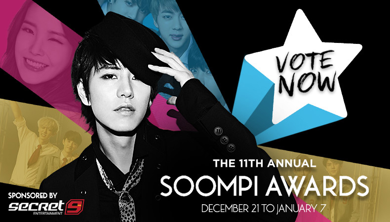 Fandoms, Unite! Vote Your Faves for The 11th Annual Soompi Awards