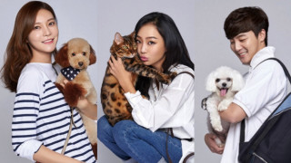 celebrities with pets