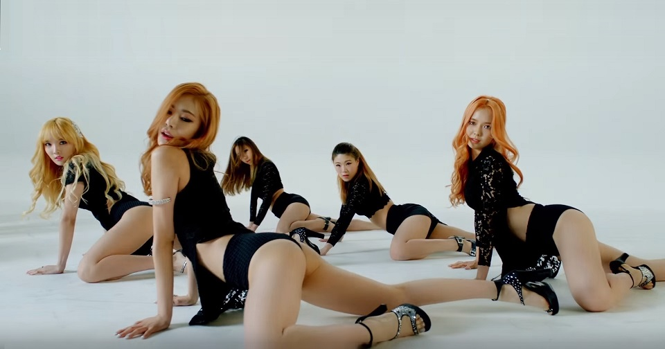 Sexy Korean Girl Group