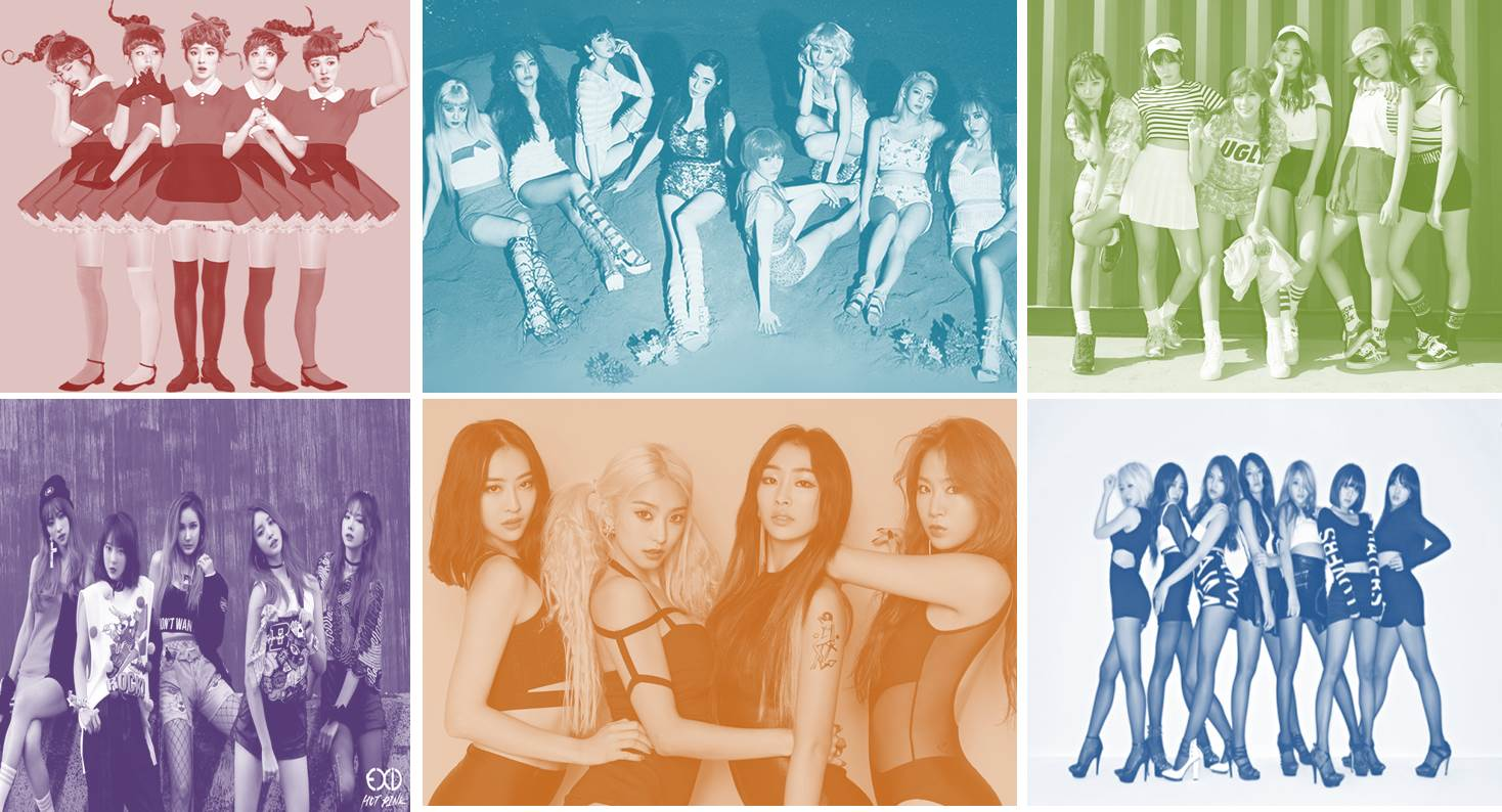 Girls' Generation Rules The 2015 Gaon Rankings for K-Pop Girl Groups