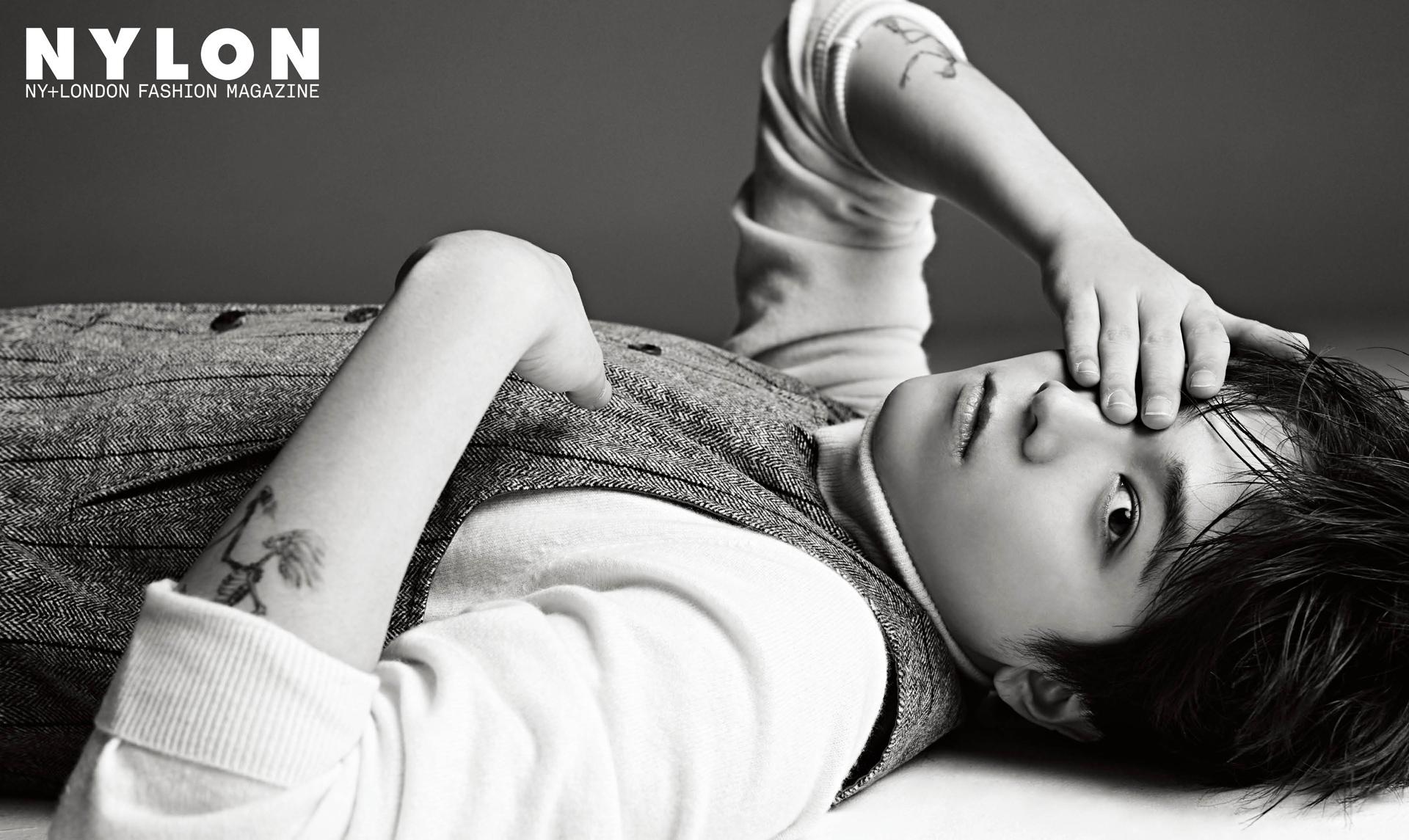 Lee Hong Ki Talks About His Solo Album With Fashion Magazine Nylon