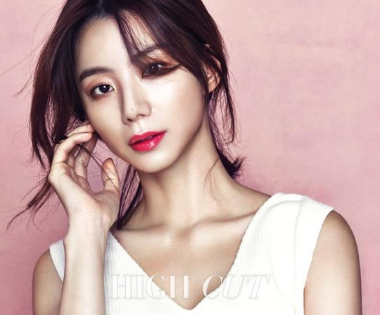 Park Soo Jin Is a Spring Goddess for High Cut