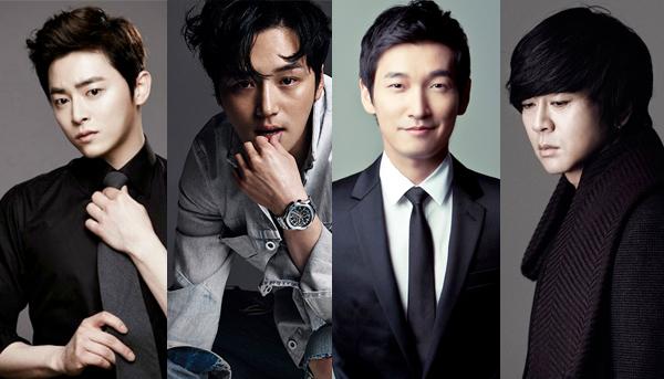 """Jo Jung Suk, Byun Yo Han, Cho Seung Woo, and Yoon Do Hyun to Take Lead Role in """"Hedwig"""" Musical"""