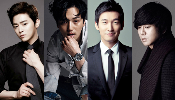 "Jo Jung Suk, Byun Yo Han, Cho Seung Woo, and Yoon Do Hyun to Take Lead Role in ""Hedwig"" Musical"