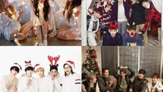 Girls' Generation BEAST B1A4 BTOB Christmas