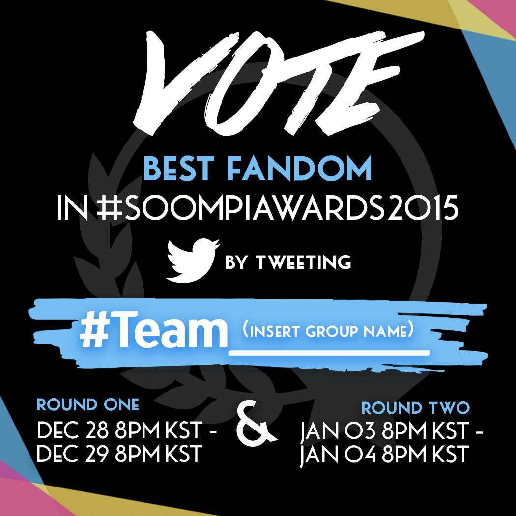 How to Vote Best Fandom in #SOOMPIAWARDS2015