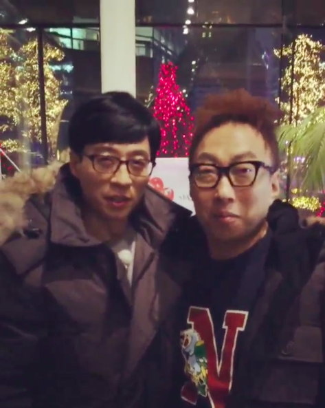 """""""Infinite Challenge"""" Cast Wishes Fans a Merry Christmas with Carols"""