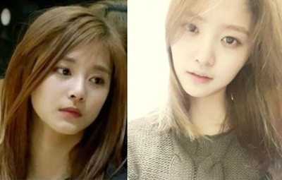 TWICE's Tzuyu and EXID's Junghwa Are Doppelgangers?