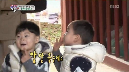 Song Triplets Are Frightened by Korean Buddhist Statues