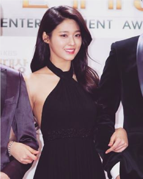 AOA's Seolhyun Is Full of Thanks After KBS Entertainment Awards