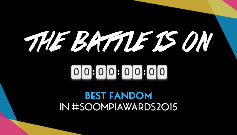 The Battle Returns! 24 Hours Only – Vote for Best Fandom in Soompi Awards 2015