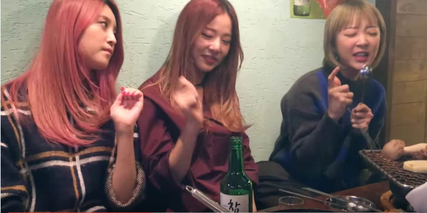 """Watch: EXID Sings """"Hot Pink"""" Acoustic Over BBQ and Soju"""