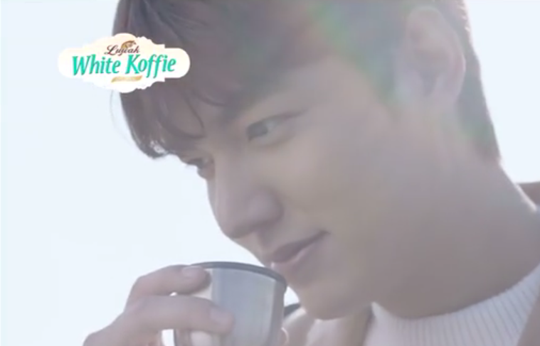Lee Min Ho Becomes Model for Indonesian Coffee Brand