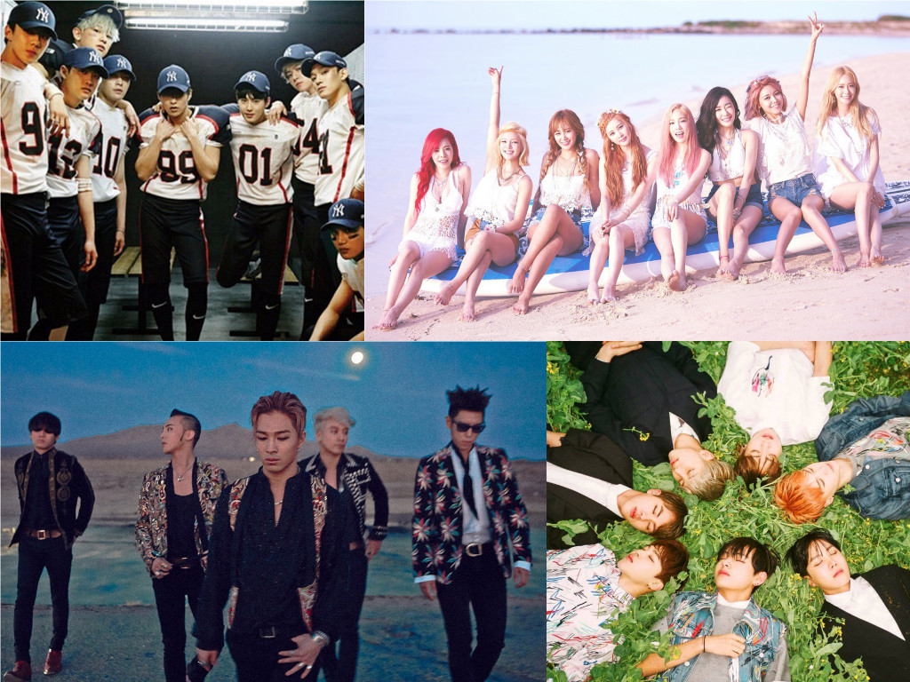 2015 K-Pop Idol Album Sales Rankings Revealed