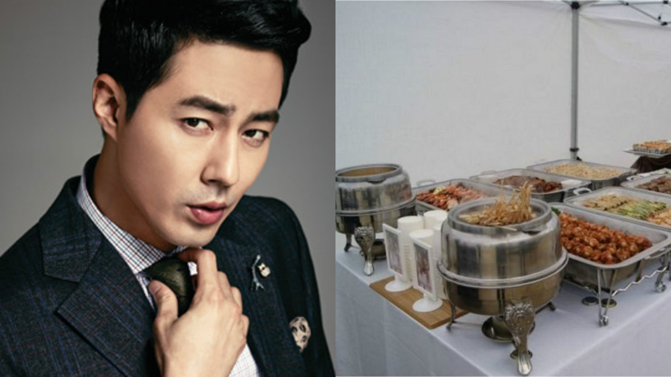 "Jo In Sung Treats ""Reply 1988"" Cast to a Buffet"