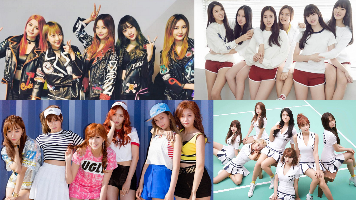 k pop girl group