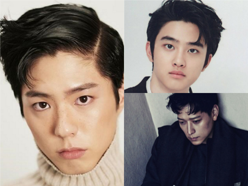 Comma Hair Styles Are The Newest Trend Among Male Celebrities Soompi
