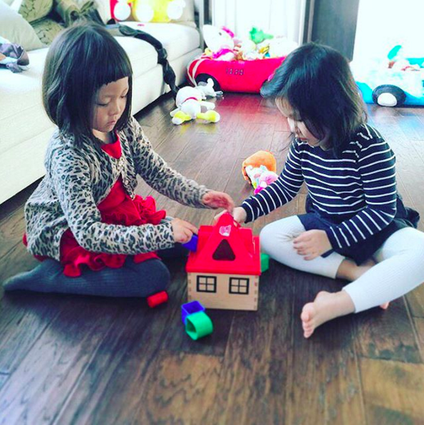 Choo Sarang and Uhm Ji On Reunite for a Playdate